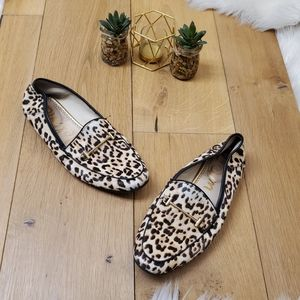 Sam Edelman Animal Print Loafers